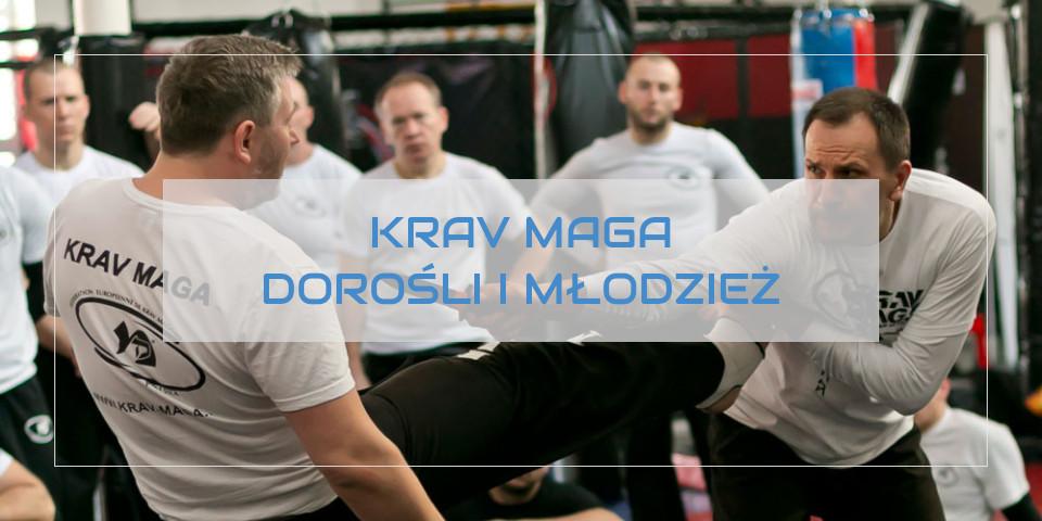 Krav Maga Poznań - treningi dla dorosłych i młodzieży